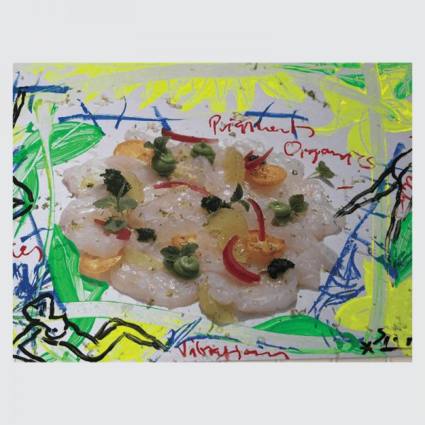 Art & Food 3   Painting by Stefan Szczesny   2019   Acrylic on Canvas   buy online   Szczesny Art Shop