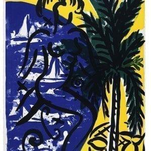 Baie des Anges | Print by Stefan Szczesny | 1999 | silk screen on paper | buy online | Szczesny Art Shop