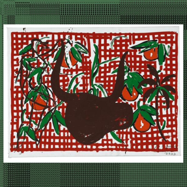 Bull's Head Mallorca suite | Print by Stefan Szczesny | 2000 | silk screen on paper | buy online | Szczesny Art Shop