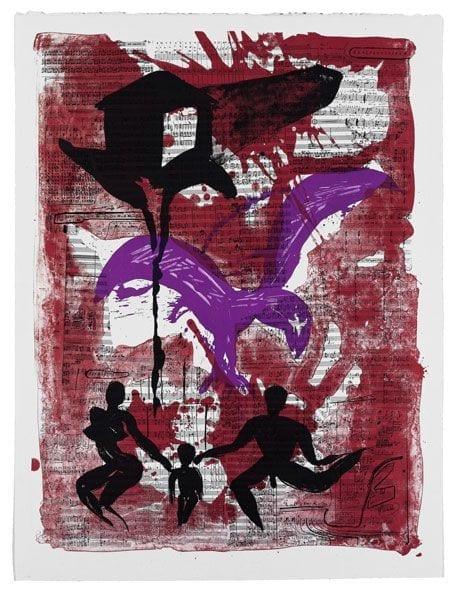 Dark House | Print by Stefan Szczesny | 1999 | litograph | buy online | Szczesny Art Shop