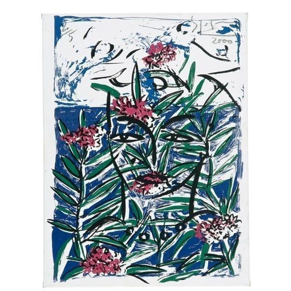 Eva before Mimosas | Print by Stefan Szczesny | 2000 | Print on Paper | buy online | Szczesny Art Shop