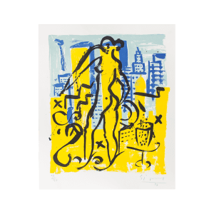 Eva Serie 2 - Eva in New York | Print by Stefan Szczesny | 1996 | Print on Paper | buy online | Szczesny Art Shop