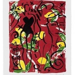Eva Serie 3 | Print by Stefan Szczesny | 1996 | litograph | buy online | Szczesny Art Shop