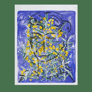 Szczesny - Eva with Mimosa | Print by Stefan Szczesny | 2000 | Print on Paper | buy online | Szczesny Art Shop