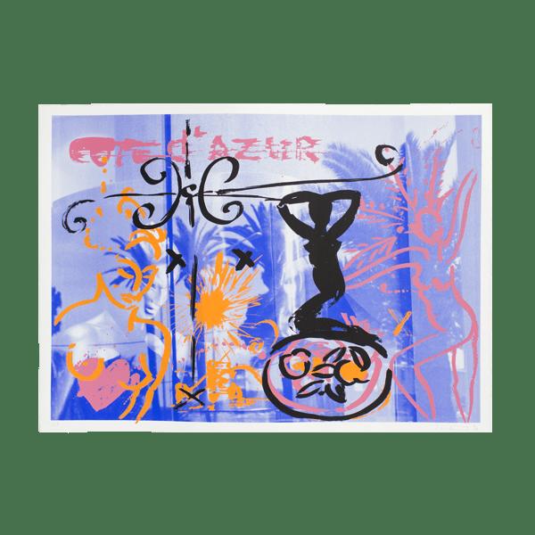 La Croisette   Print by Stefan Szczesny   1998   Print on Paper   buy online   Szczesny Art Shop