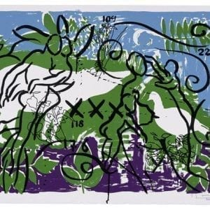 Living Planet 1 | Stefan Szczesny | 2000 | silk screen on paper | Szczesny Art Shop
