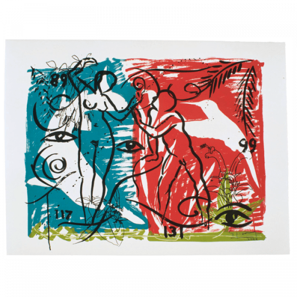 Living Planet 5   Printing by Stefan Szczesny   2000   screen print on paper   buy online   Szczesny Art Shop