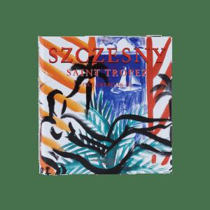 Liegender Akt mit Stillleben | Painting by Stefan Szczesny | 2021 | Acrylic on Canvas | buy online | Szczesny Art Shop