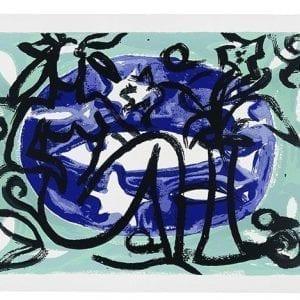 Seaside 3 | Print by Stefan Szczesny | 2001 | silk screen on paper | buy online | Szczesny Art Shop