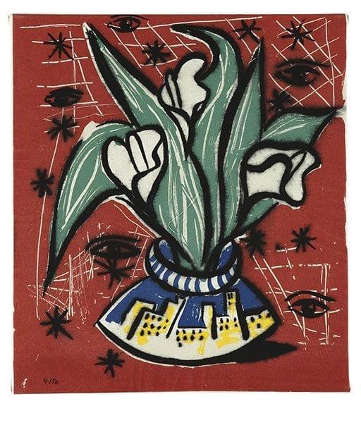Still Life 1   Print by Stefan Szczesny   2000   silk screen on paper   buy online   Szczesny Art Shop