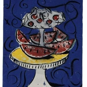 Still Life 2 | Print by Stefan Szczesny | 2000 | silk screen on cotton | buy online | Szczesny Art Shop