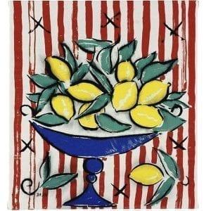 Still Life with Citron | Print by Stefan Szczesny | 2000 | silk screen on cotton | buy online | Szczesny Art Shop