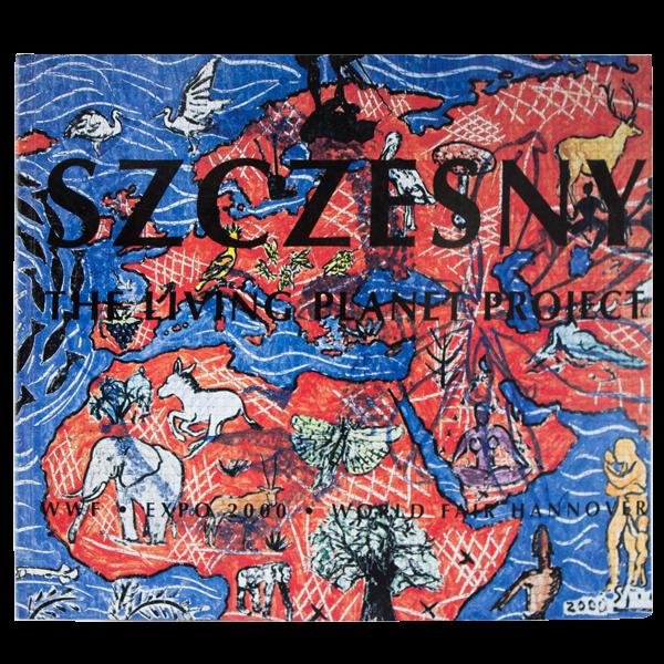 Szczesny: The Living Planet Project   Book by Stefan Szczesny   2000   Book   buy online   Szczesny Art Shop