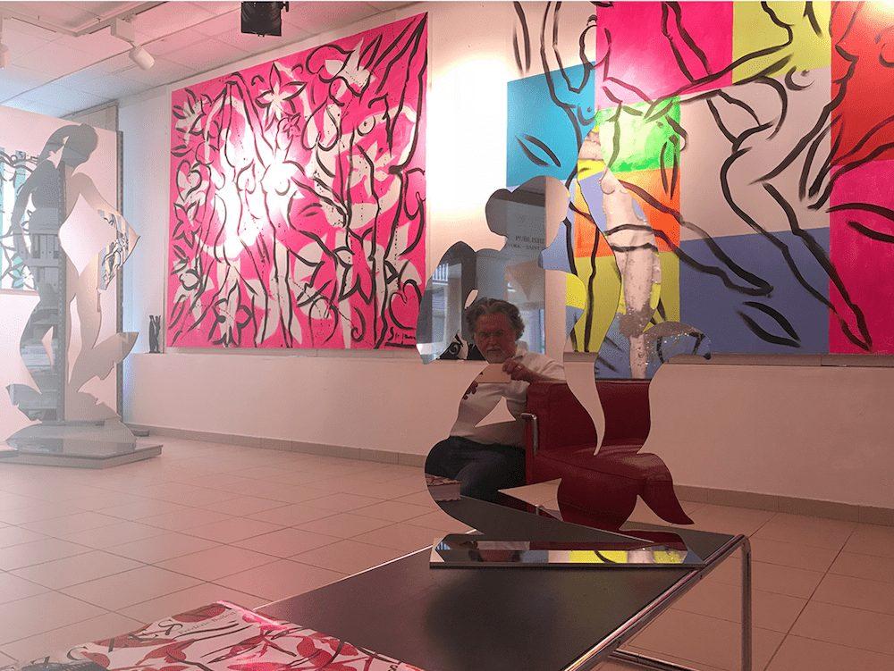 Stefan Szczesny where to meet the Artist | Paintings by Stefan Szczesny | 2021 | Acrylic on Canvas | buy online | Szczesny Art Shop
