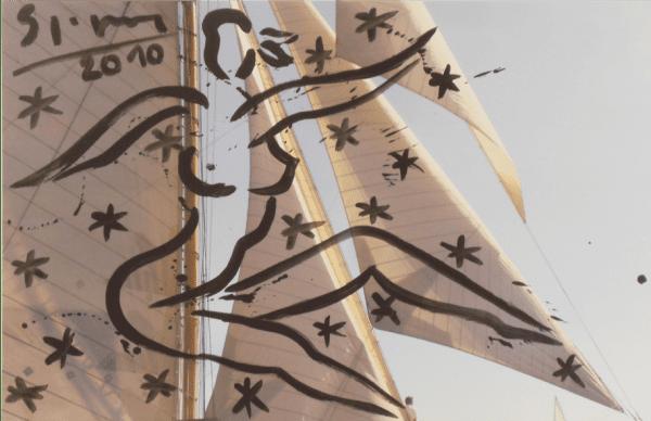 Les Voiles de Saint Tropez V | Painting by Stefan Szczesny | 2010 | Acrylic on Canvas | buy online | Szczesny Art Shop