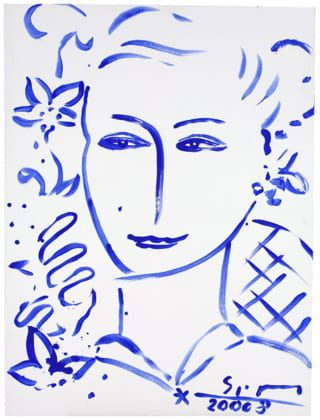 Eva 3   Painting by Stefan Szczesny   2008   Acrylic on Canvas   buy online   Szczesny Art Shop