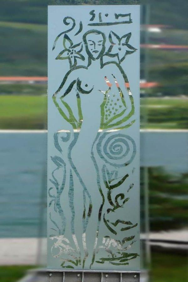 Glasstele | Glasstele by Stefan Szczesny | 2007 | Glas | buy online | Szczesny Art Shop