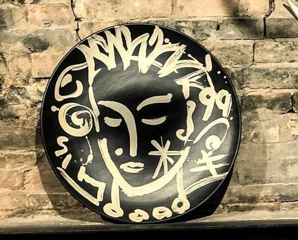 Bowl Black Sinterengobe Sgrafitto | Ceramics by Stefan Szczesny | 2019| Ceramics | buy online | Szczesny Art Shop