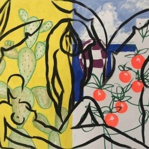Stefan Szczesny Summertime | Painting by Stefan Szczesny | 2018 | Acrylic on Canvas | buy online | Szczesny Art Shop