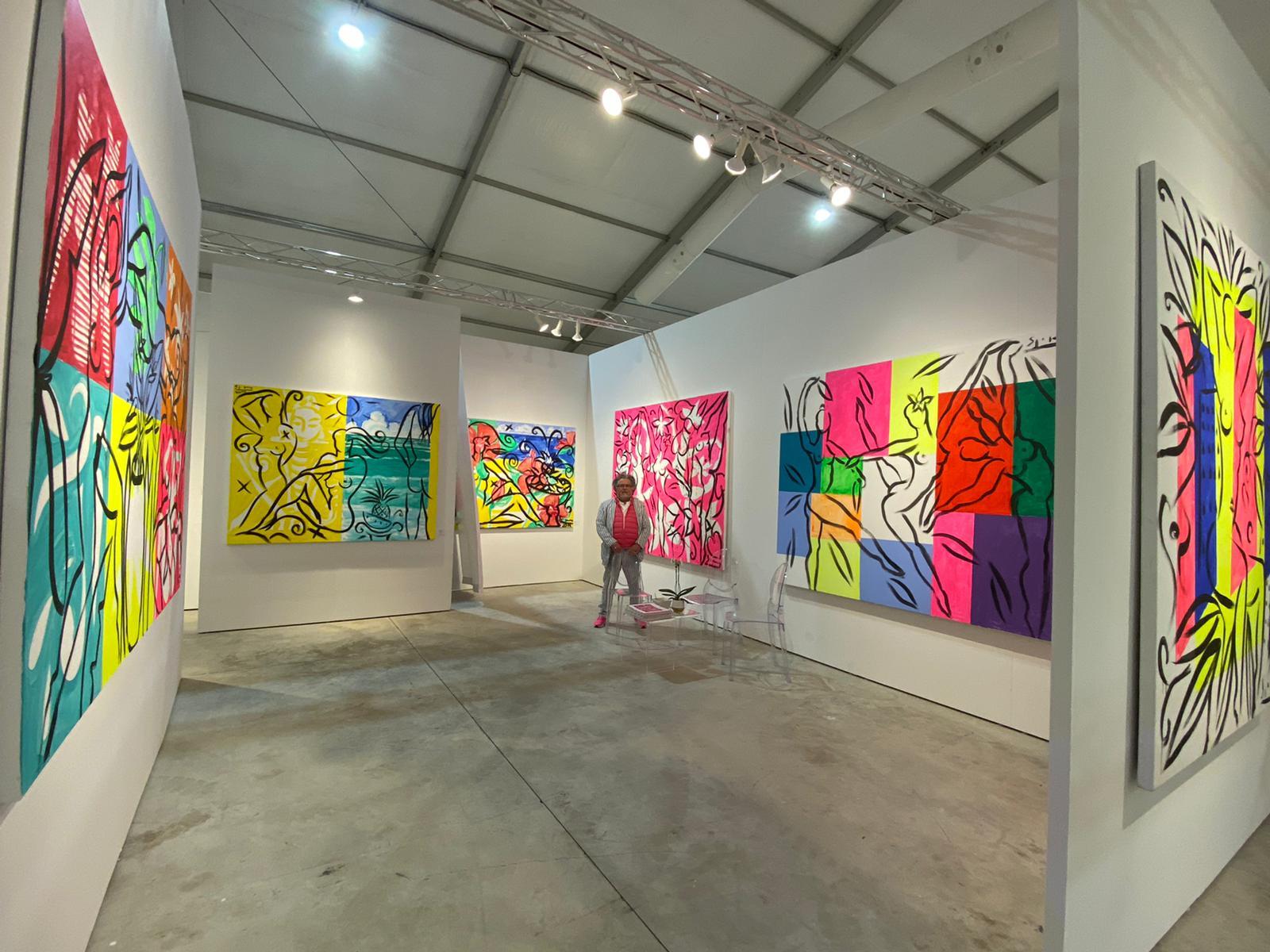 Art Basel Miami | Painting by Stefan Szczesny | 2019 | Acrylic on Canvas | buy online | Szczesny Art Shop