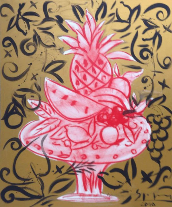 Fruit Still Life | Painting by Stefan Szczesny | 2010 | Acrylic on Canvas | buy online | Szczesny Art Shop