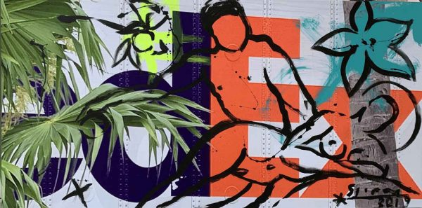 Stefan Szczesny FedEx Interpretation   Painting by Stefan Szczesny   2019   Acrylic on Canvas   buy online   Szczesny Art Shop