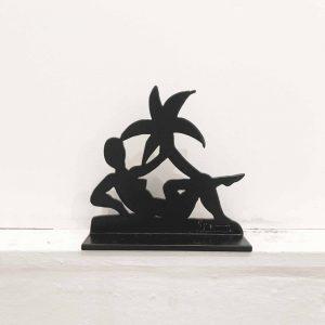 Stefan Szczesny Woman under Palmtree | Painting by Stefan Szczesny | 2018 | Sculpture | buy online | Szczesny Art Shop