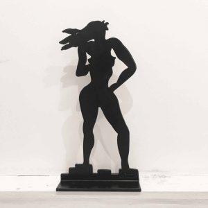 Stefan Szczesny Woman stands the Wind | Sculpture by Stefan Szczesny | 2018 | Sculpture | buy online | Szczesny Art Shop