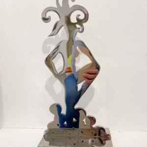 Stefan Szczesny Silver Woman | Sculpture by Stefan Szczesny | 2018 | Sculpture | buy online | Szczesny Art Shop