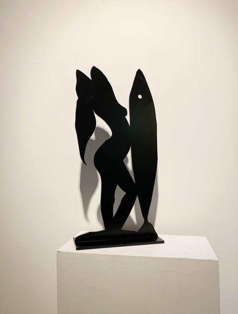 Stefan Szczesny Posing with a Fish   Stefan Szczesny   2019   Sculpture   Szczesny Art Shop