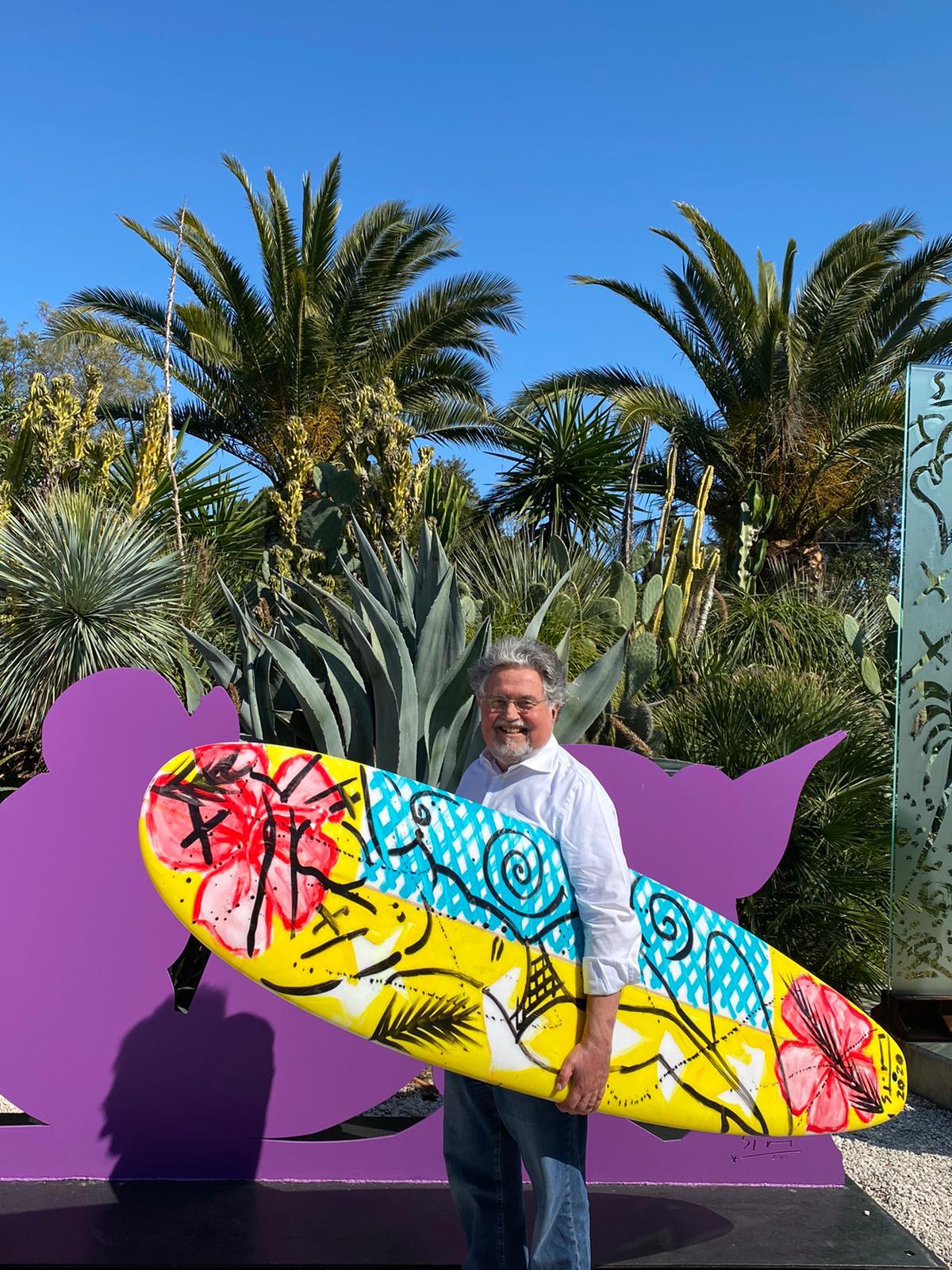 Stefan Szczesny Surfboard | Surfboard by Stefan Szczesny | 2020 | Surfboard Art | buy online | Szczesny Art Shop