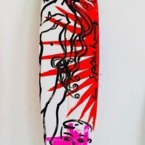 Stefan Szczesny Malibu Surfboard 23 | Surfboard by Stefan Szczesny | 2020 | Surfboard Art | buy online | Szczesny Art Shop