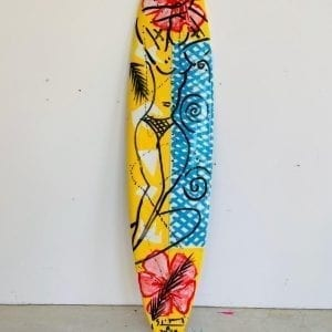 Stefan Szczesny Malibu Surfboard Nr.12 | Surfboard by Stefan Szczesny | 2020 | Surfboard Art | buy online | Szczesny Art Shop