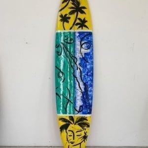 Stefan Szczesny Malibu Surfboard Nr. 16 | Surfboard by Stefan Szczesny | 2020 | Surfboard Art | buy online | Szczesny Art Shop