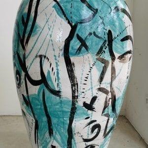 Stefan Szczesny Bodenvase 10450 | Painting by Stefan Szczesny | 2020 | Ceramics | buy online | Szczesny Art Shop