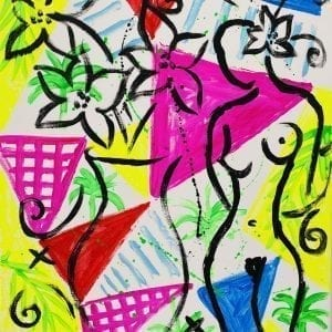 o.T. | Painting by Stefan Szczesny | 2020 | Acrylic on Canvas | buy online | Szczesny Art Shop