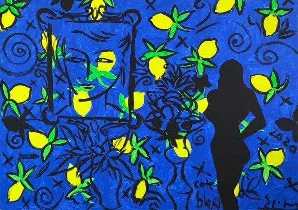 o.T. (La cote Bleue) | Painting by Stefan Szczesny | 2020 | Acrylic on Canvas | buy online | Szczesny Art Shop