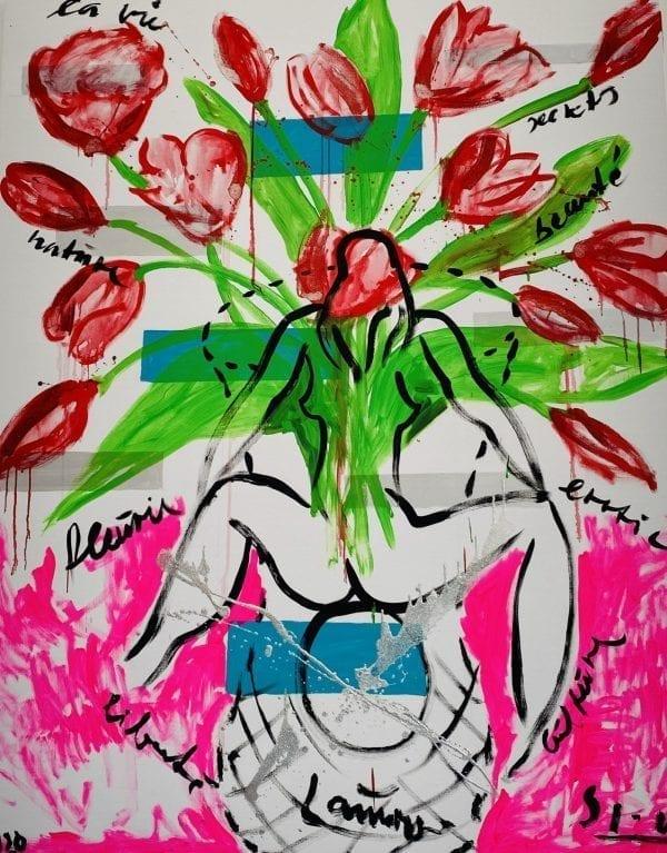 Hymne a la Vie | Painting by Stefan Szczesny | 2020 | Acrylic on Canvas | buy online | Szczesny Art Shop