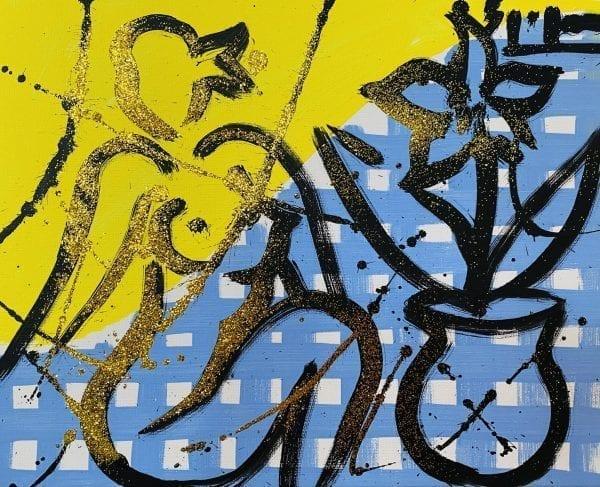 o.T   Painting by Stefan Szczesny   2021   Acrylic on Canvas   buy online   Szczesny Art Shop