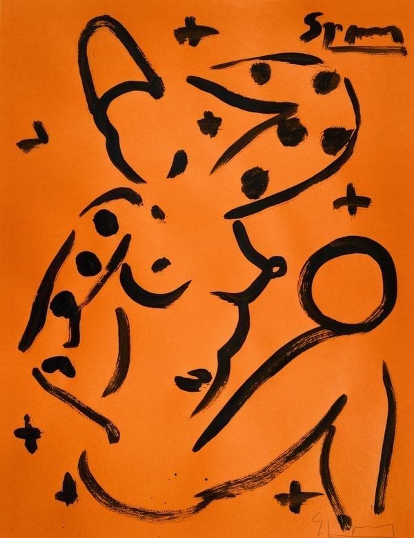 o.T.   Painting by Stefan Szczesny   2020   Acrylic on Canvas   buy online   Szczesny Art Shop