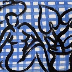 o.T. (Still Life) | Painting by Stefan Szczesny | 2021 | Acrylic on Canvas | buy online | Szczesny Art Shop