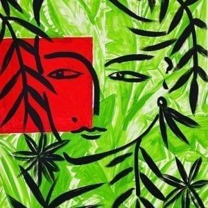 o.T. (Eva) | Painting by Stefan Szczesny | 2021 | Acrylic on Canvas | buy online | Szczesny Art Shop