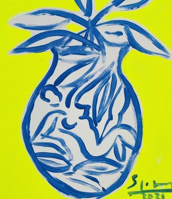 o.T.   Painting by Stefan Szczesny   2021   Acrylic on Canvas   buy online   Szczesny Art Shop