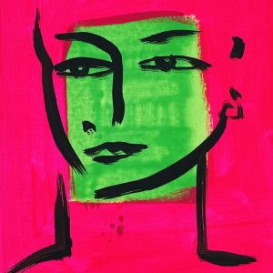 Eva | Painting by Stefan Szczesny | 2021 | Acrylic on Canvas | buy online | Szczesny Art Shop