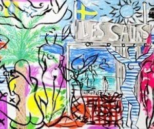 Les Salins | Print by Stefan Szczesny | 2021 | Print | buy online | Szczesny Art Shop